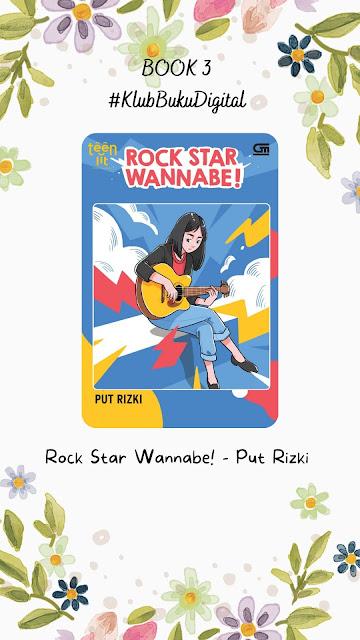 novel rock star wannabe - put rizki