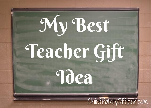 My Best Teacher Gift Idea