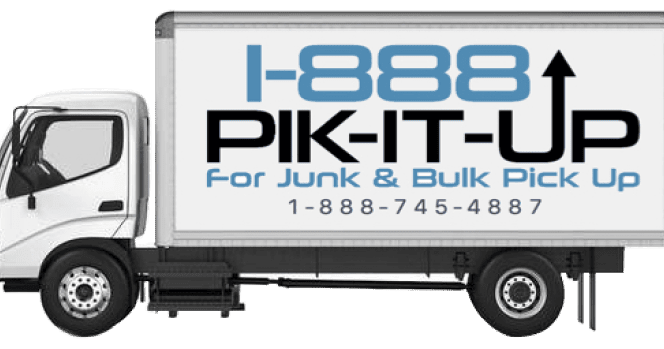 Complete coverage of junk & bulk pick up