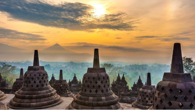 Candi Borobudur, peninggalan Sailendra
