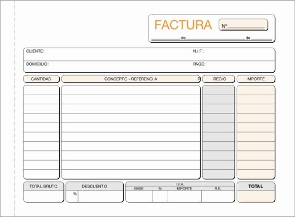 IPA Apuntes sobre la factura - formato de factura de venta