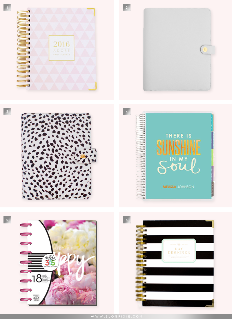 Where to buy the best planners in 2016
