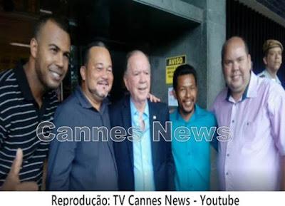 Edmar Luz líder político do (PP) de Canavieiras participou de lançamento do plano operacional para cacau e chocolate na Bahia