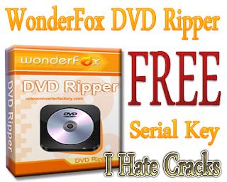 WonderFox DVD Ripper Free Dowmload With Serial Key