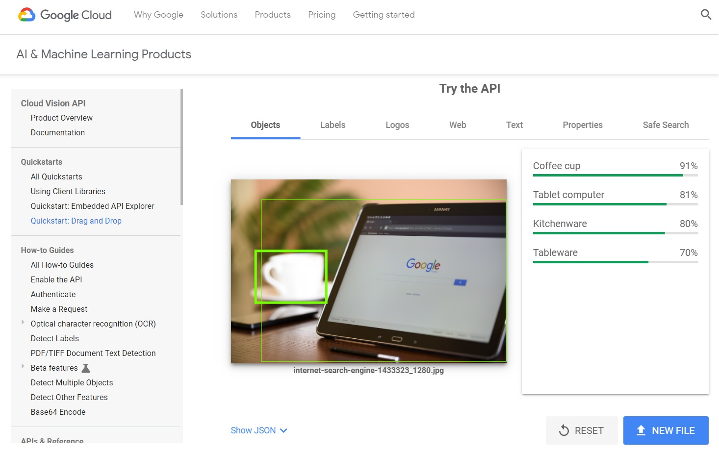 Google's New Cloud Vision Tool Makes Image-SEO Easier