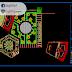 مخطط تهيئة مساحة خضراء + قاعات اوتوكاد dwg
