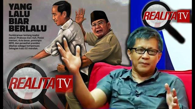 Rocky Gerung: Nggak Butuh Prabowo, Nyampah-nyampahin Negeri Aja