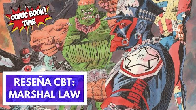 """Cómic reseña: """"Marshal Law"""" de Pat Mills y Kevin O´Neill"""