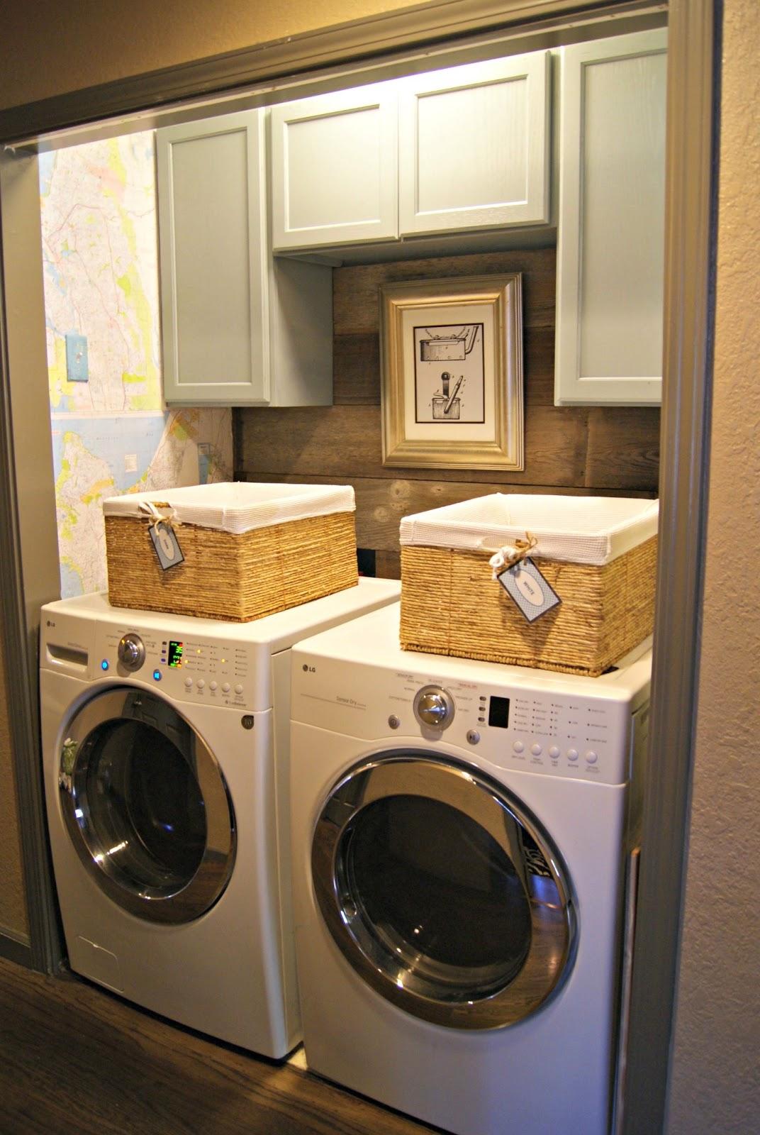 laundry room closet organization | Blessed {bles-id}: Laundry Closet