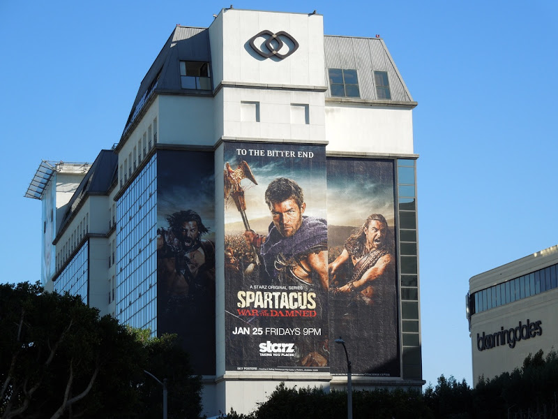 Giant Spartacus War of the Damned billboard