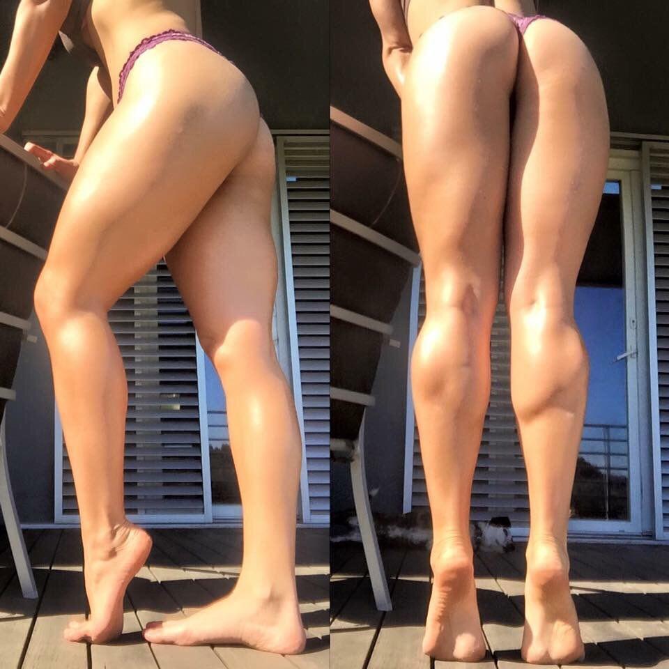 Babe tonya tyler with calves