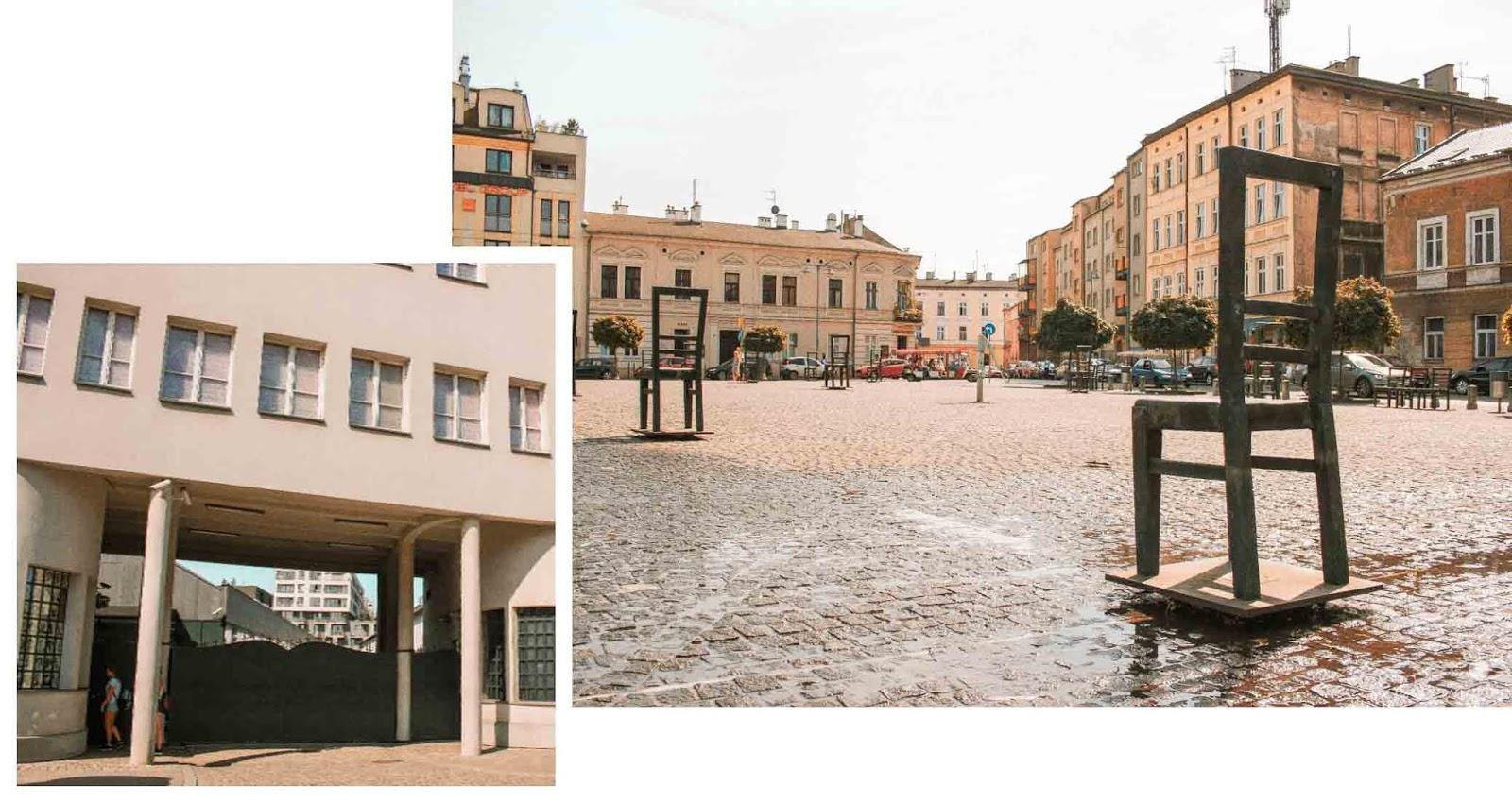 My Travel Background : Cracovie en Pologne, mon top 10 pour visiter la ville - Le quartier de l'ancien Ghetto