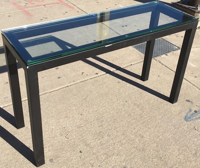 Glass Top Sofa Table - $75 Each