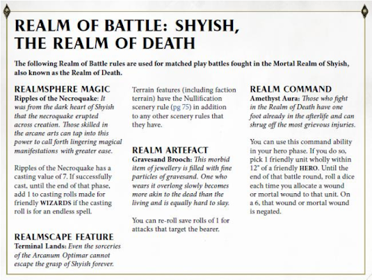Reinos de Batalla: Shyish