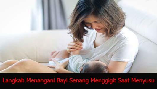 Langkah Menangani Bayi Senang Menggigit Saat Menyusu