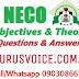 2019/2020 NECO GCE Agric Practical Runz/Runs | Free 2019 Agric Practical Expo OBJ & Essay Answers | NOV/DEC