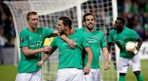 St Etienne cũng đang sở hữu chuỗi trận bất bại.