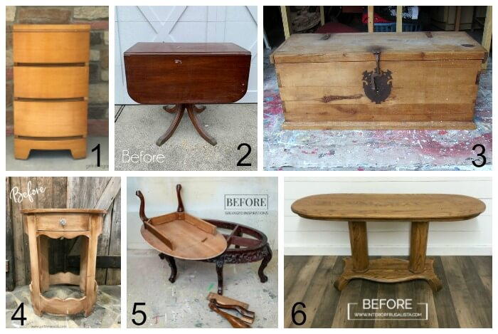 Furniture Fixer Uppers Group June 2019 Furniture Makeovers Before