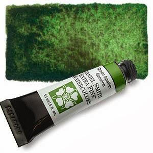 The Watercolour Log Daniel Smith Special Pigments