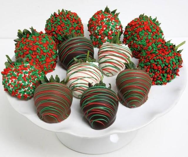 Chocolate covered strawberries #7