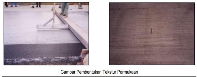 Gambar Pembentukan Tekstur Permukaan