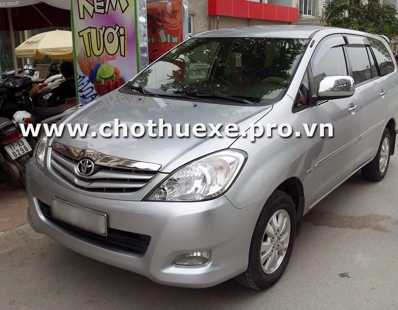 Cần thuê xe ô tô 7 chỗ tại Hà Nội 1