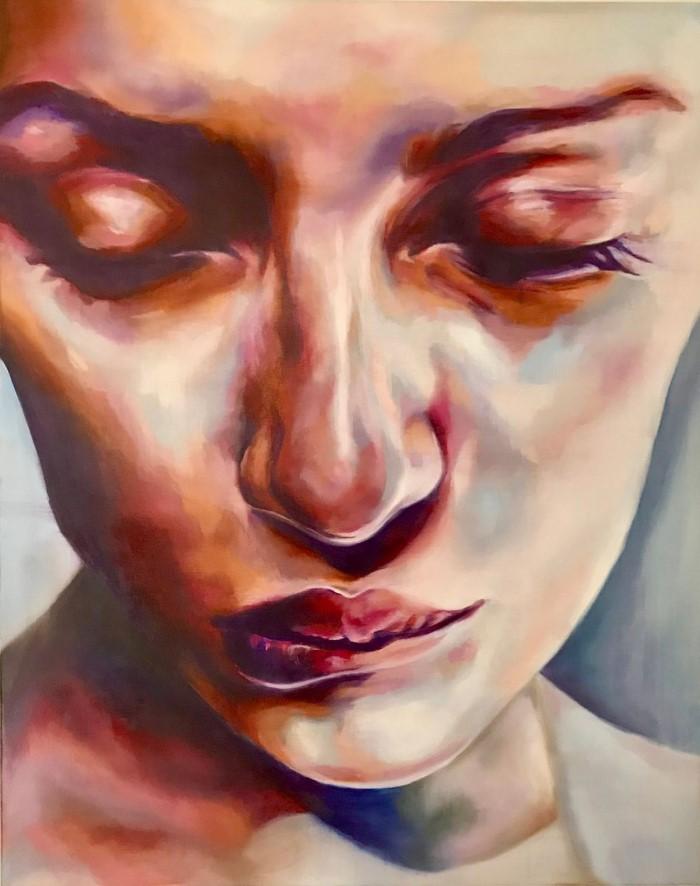 Нидерландский художник-реалист. Daphne Schrijver