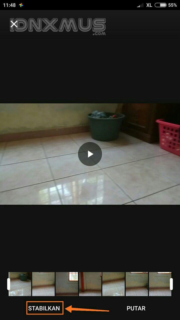 Stabilkan Video Dengan Google Photos
