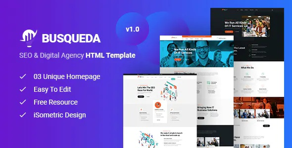 BSEO and Digital Agency HTML Template