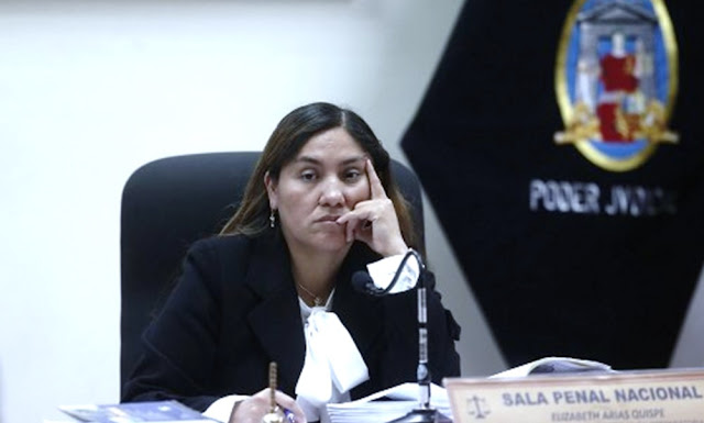 Jueza Elizabeth Arias acepta inhibirse de investigación a Keiko Fujimori