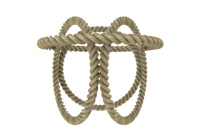 rope 3d model free download