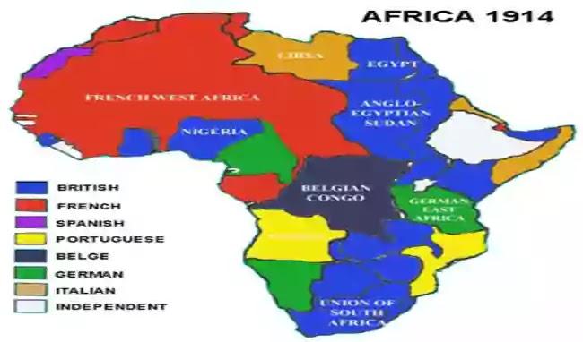 আফ্রিকার ব্যবচ্ছেদ