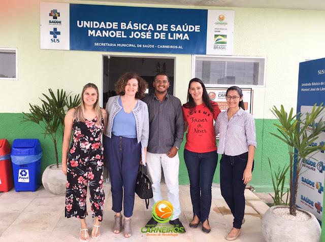 Em Carneiros; Defensoria Pública inspeciona unidades básicas de saúde
