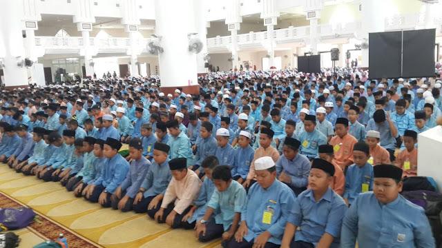 Solat Hajat Perdana dan JUC UPKK 2017 Daerah Kuantan