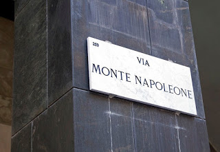 Via Monte Napoleone is the most famous street in Milan's Quadrilatero della Moda