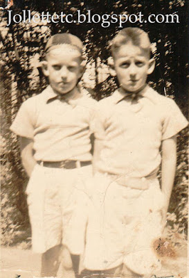 Leo Slade and Fred Slade about 1937 https://jollettetc.blogspot.com