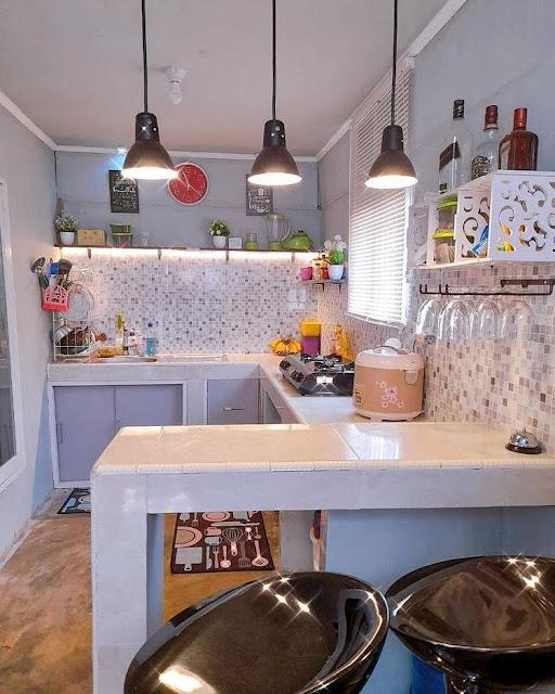 Gambar Dapur Kecil Minimalis Modern Terbaru