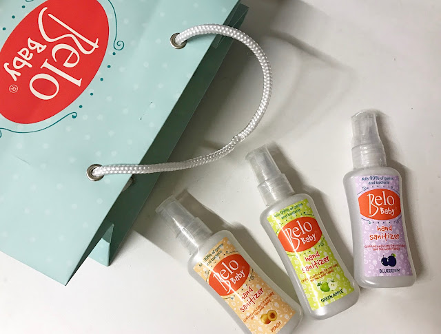 A photo of Belo Baby Hand Sanitizer