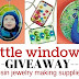Winner of Little Windows' $50 Resin Jewelry Making Supplies Giveaway | Pressed Flower and Sticker Feature