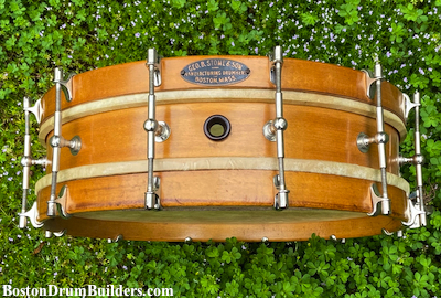 1922 George B. Stone & Son Separate Tension Orchestra Drum