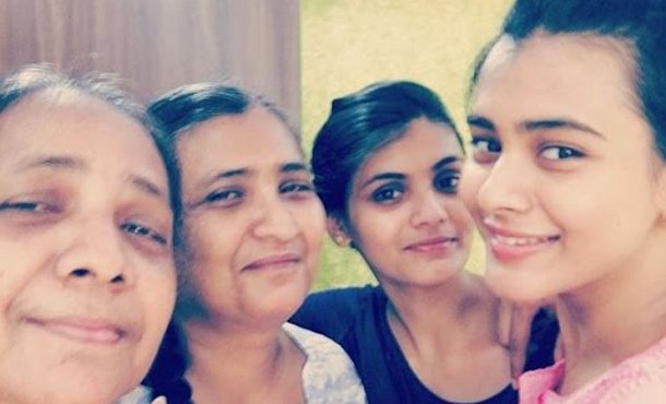 Hebah Patel Family Photos