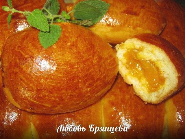 пирожки печеные с абрикосами