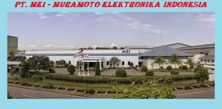Elektronik,Jawa Barat, SMA/SMK, Manufacturing - Lowongan Kerja PT. Muramoto Elektronika Indonesia (PT. MEI)