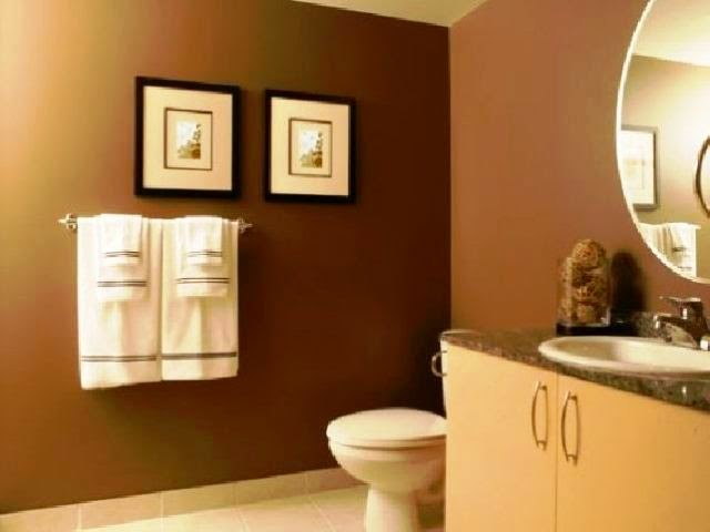 accent wall paint ideas bathroom
