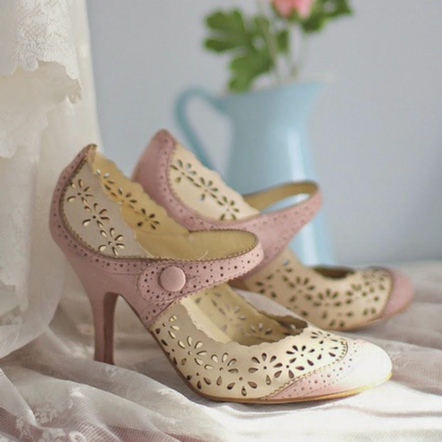 Sapatos fofos da internet