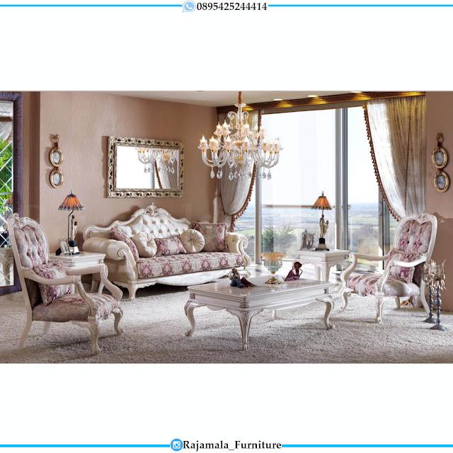 Best Seller Sofa Tamu Mewah Jepara Terbaru Luxury Carving Palace RM-0518