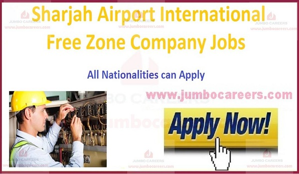 Current Sharjah Jobs and careers,