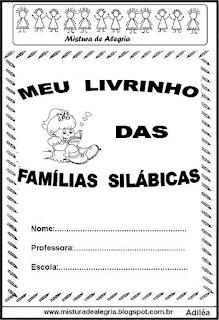 Livrinho das famílias silábicas