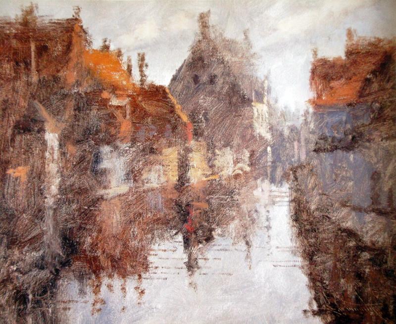 Charles Warren Mundy 1945   American Impressionist painter