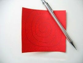 Kerajinan Tangan Dari Kertas Bekas, Bunga Mawar Kertas 1